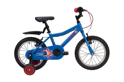 "Raleigh Atom Boys 16"" Wheel Alloy Bike Blue"