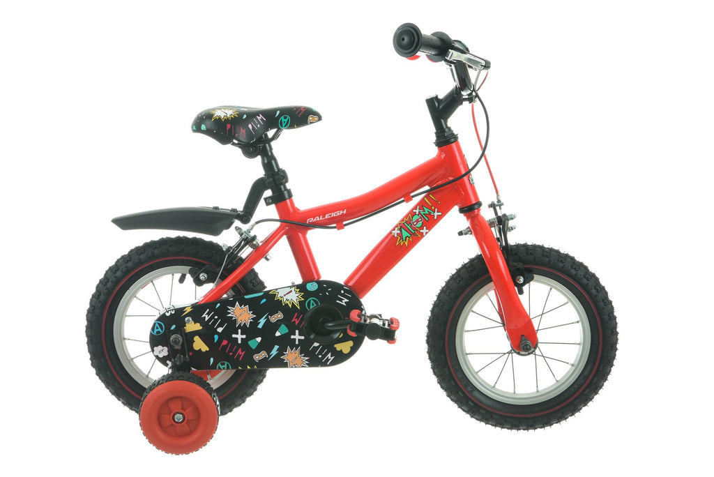 "Raleigh Atom Boys 12"" Wheel Bike Red"