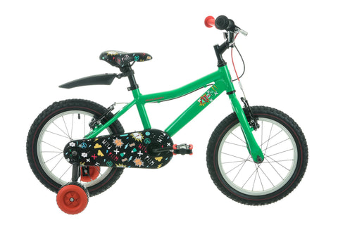 "Raleigh Atom Boys 16"" Wheel Bike Green"