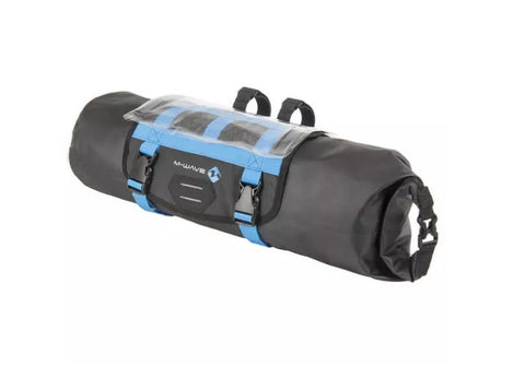 M-Wave Bicycle 10L Waterproof Front Handle Bar Bag
