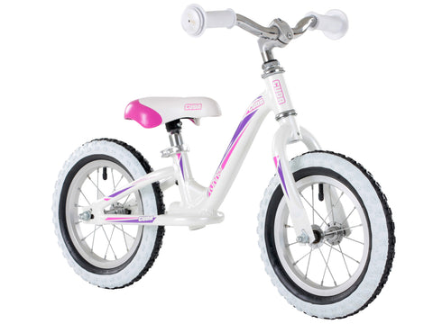 "Cuda Blox Runner 12"" Balance Bike White Ages 1.5yr+"