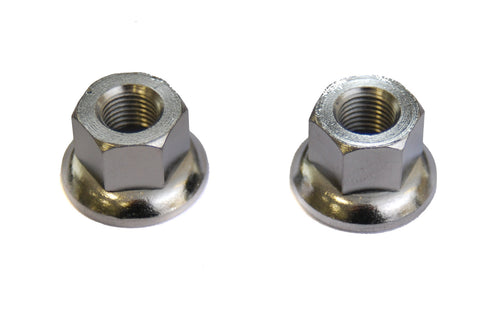 Weldtite 10mm  Bike Wheel Axle Nuts X 2
