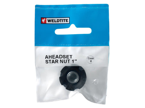 Weldtite Aheadset Star Nut 1""