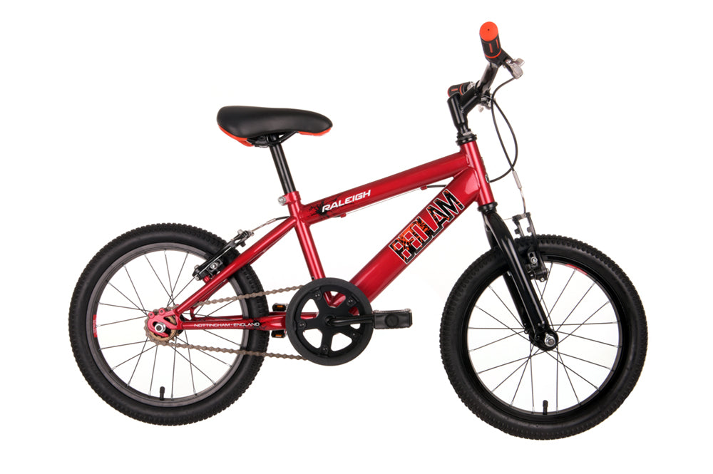 "Raleigh Bedlam 16"" Wheel Mountain Bike Red"