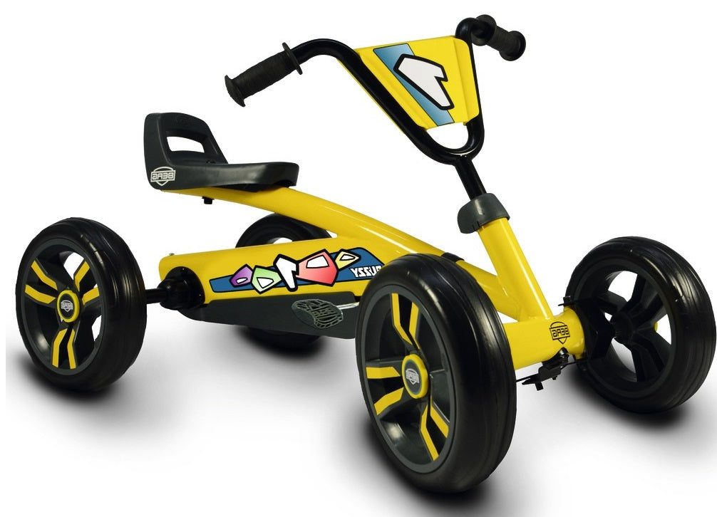 Berg Buzzy Yellow 4 Wheel Go Kart