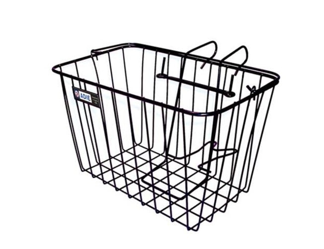 Adie Front Cycle Wire Basket Black