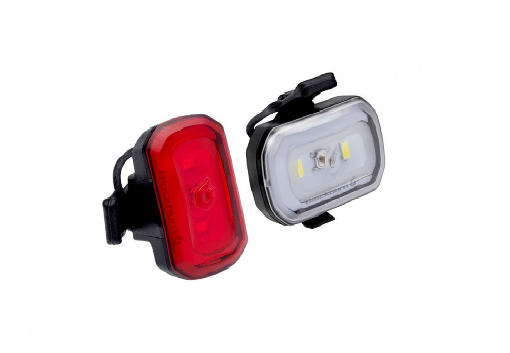 Blackburn Click Front And Rear USB LED Bicycle Light set