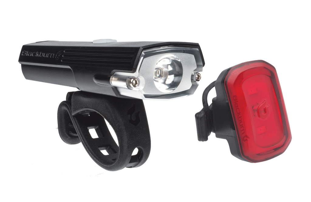 Blackburn Dayblazer 400 Front And Click Rear USB Rechargeable Bicycle Light Set