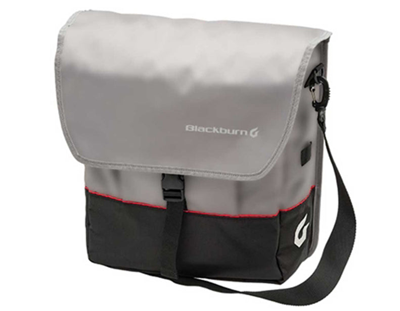 Blackburn Local Single 18L Pannier Bag in Grey