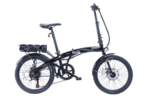 "B Grade Viking EVO 20"" Folding E-Bike Electric Bike Black"