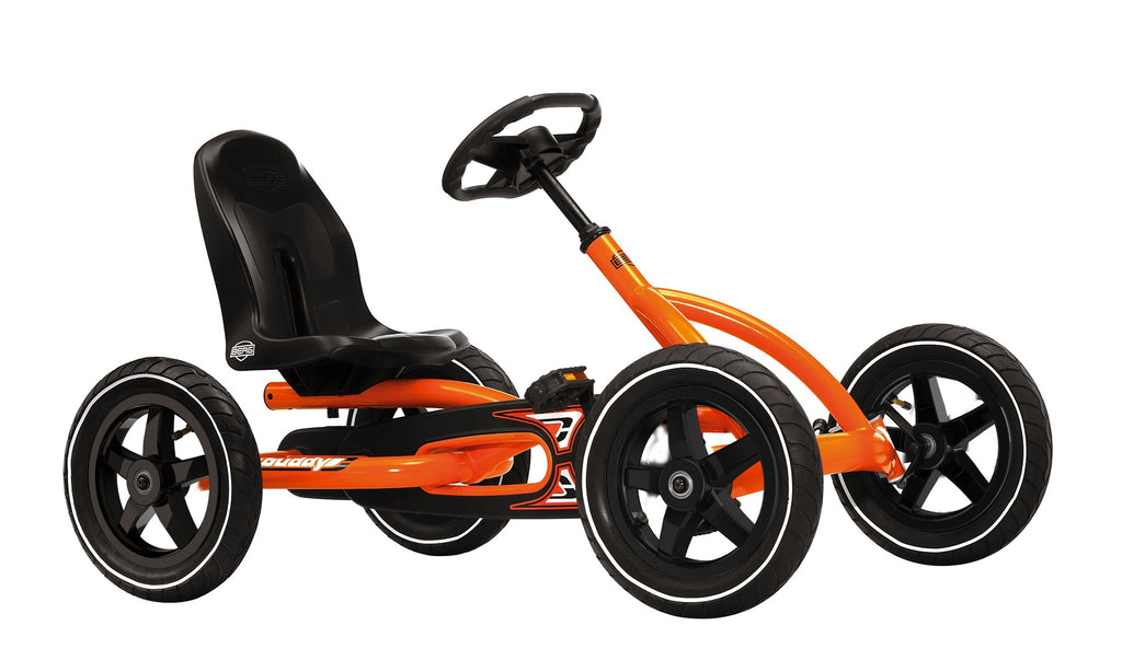 BERG Buddy Grey/Orange 4 Wheel Go Kart