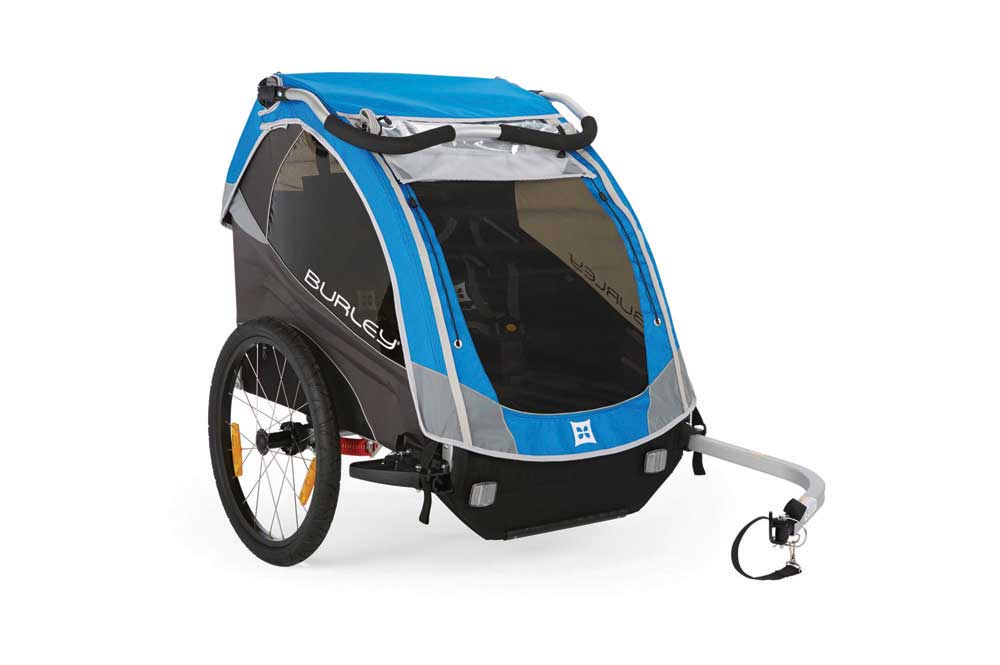 Burley D'Lite Child Bicycle Trailer Blue