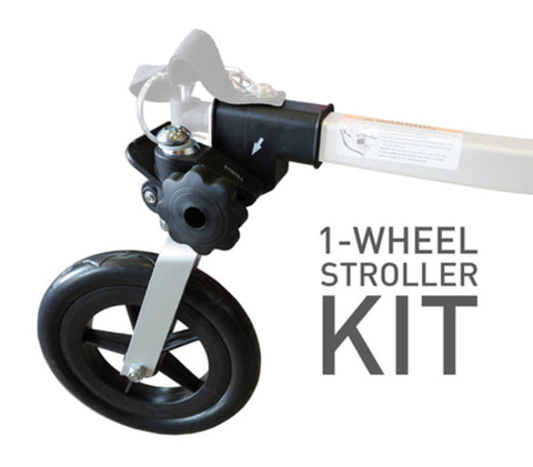 Burley One-Wheel Stroller kit for Child Pet and Cargo Trailers