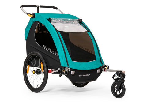 Burley Encore X Child Bicycle Trailer Turquoise