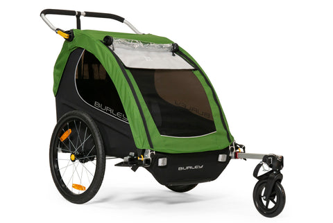 Burley Encore Child Bicycle Trailer Treetop Green