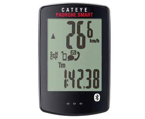 Cateye Padrone Smart Bluetooth Bike Computer Andriod iOs Compatible
