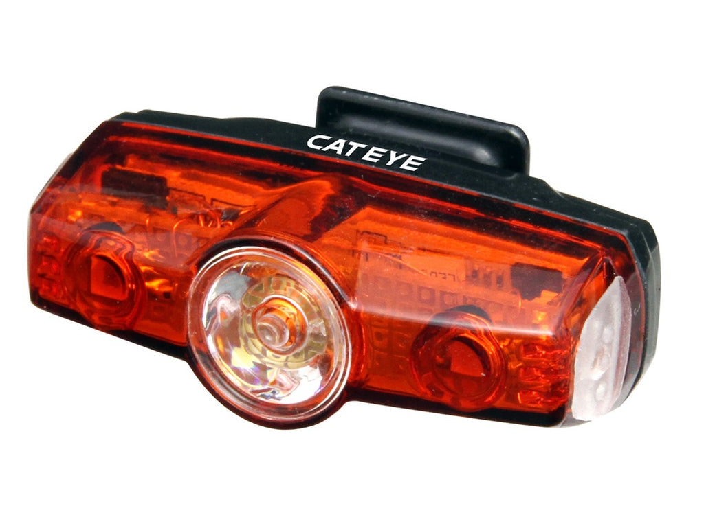 Cateye Rapid Mini Rear Rechargeable Bicycle Light 21g 25 Lumen