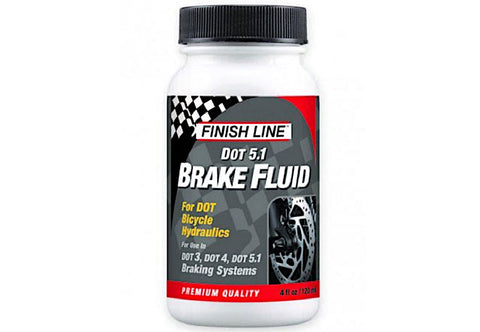 Finish Line DOT 5.1 Brake Fluid 4oz/120ml
