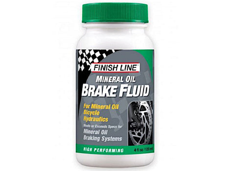 Finish Line Mineral Oil Brake Fluid 4oz/120ml