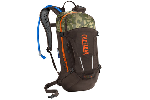 2019 Camelbak 3.0L MULE Hydration Pack in Brown Seal/Camouflage