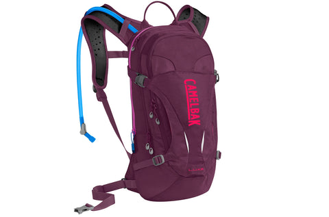 2019 Camelbak Womens 3.0L LUXE Hydration Pack in Italian Plum/Diva Pink