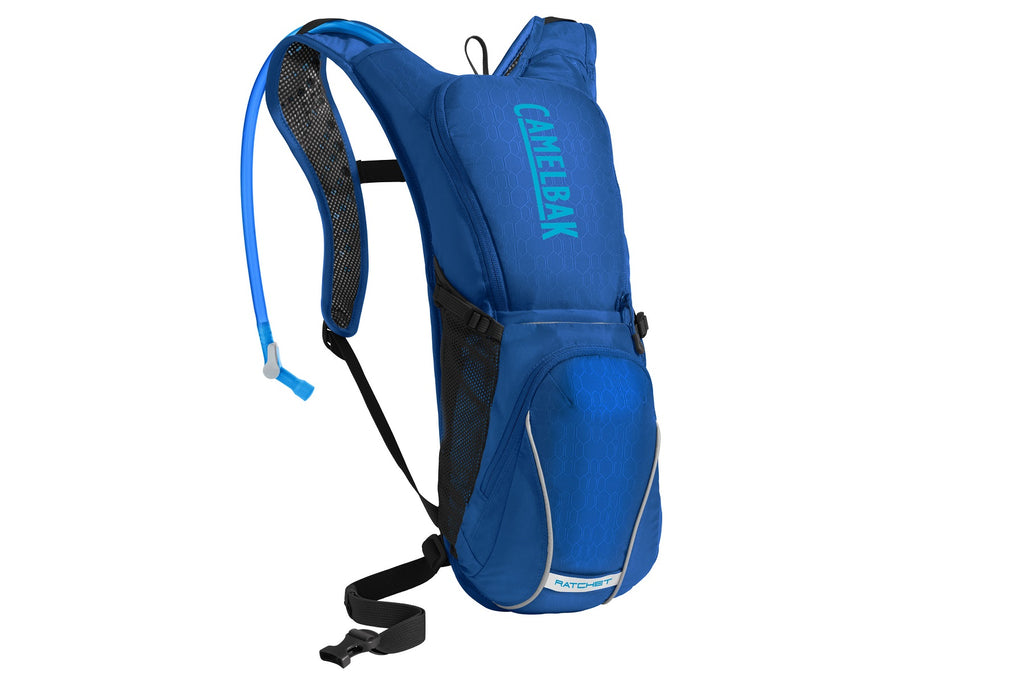 2019 Camelbak 3L Ratchet Hydration Pack in Blue/Atomic Blue
