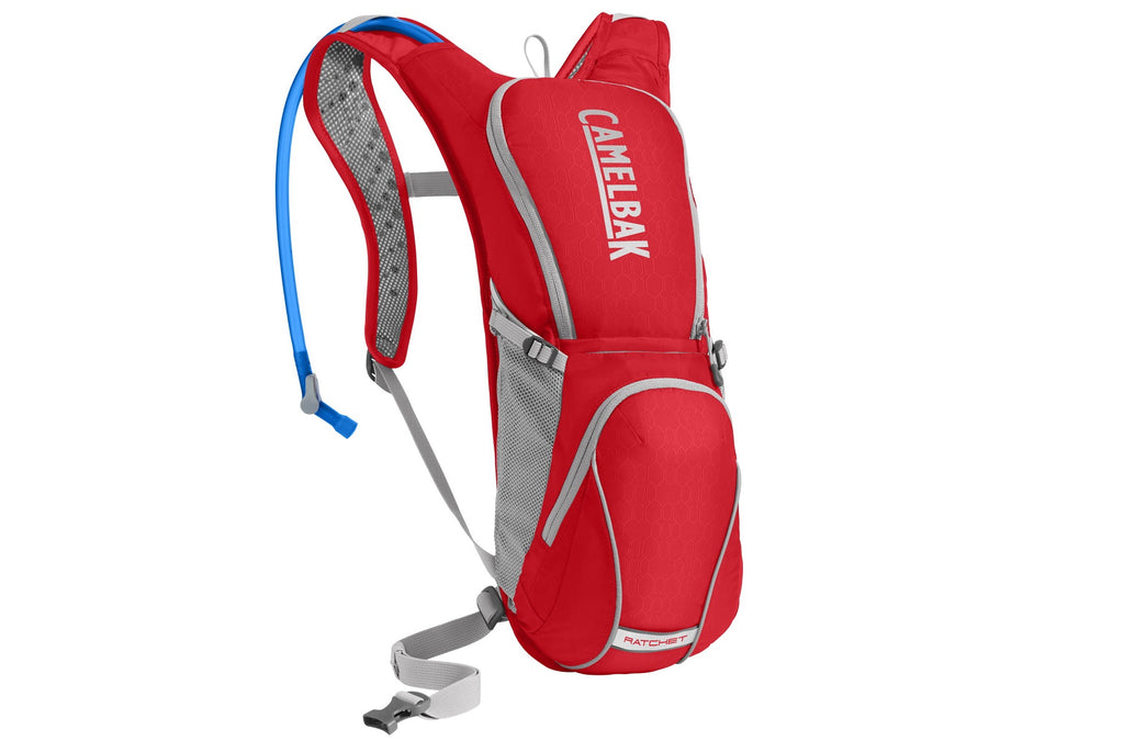 2019 Camelbak 3L Ratchet Hydration Pack in Racing Red/Silver