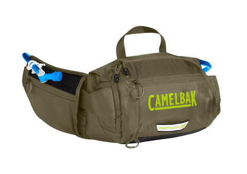 2018 Camelbak 1.5L Repack LR Hydration Pack in Olive/Lime