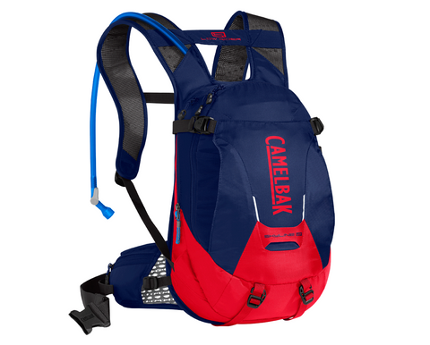 2018 Camelbak 3L Skyline LR 10 Low Rider Hydration Pack in Blue/Racing Red