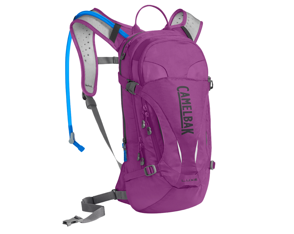 2018 Camelbak Womens 3.0L LUXE Hydration Pack in Light Purple/Charcoal