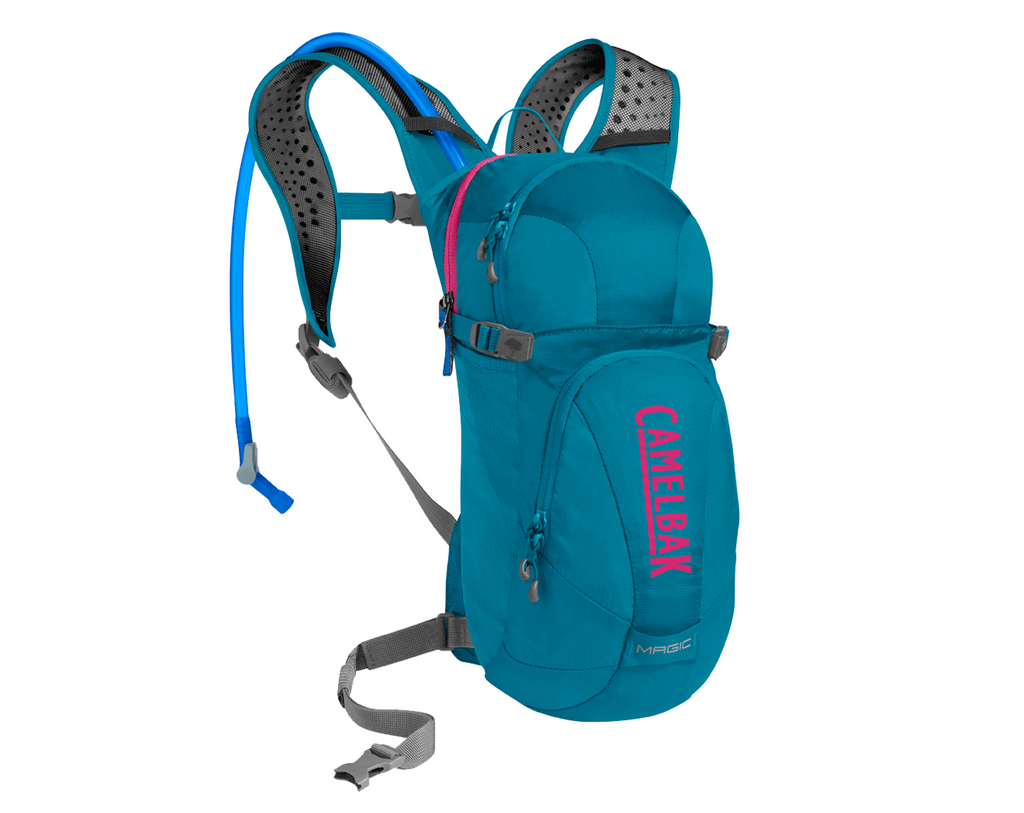 2018 Camelbak Womens 2.0L Magic Hydration Pack in Teal/Pink