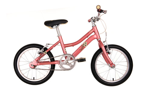 "Raleigh Chic 16"" Wheel Girls Aluminium Bicycle Pink"