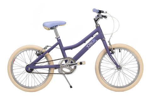 "Raleigh Chic Girls 18"" Wheel Alloy Bike Purple"