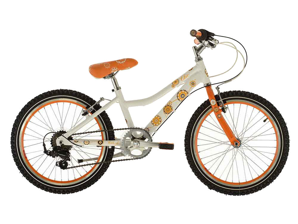 "B Grade 2016 Raleigh Chic 20"" Wheel Girls Aluminium Bicycle 7-9yrs"