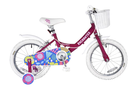 "Concept Enchanted 16"" Wheel Girls Bicycle"