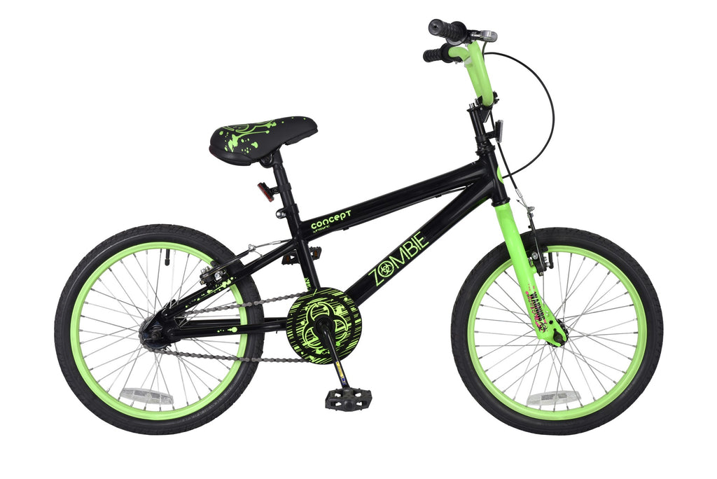 "Concept Zombie 18"" Wheel Boys BMX Bicycle"