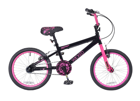 "Concept Wicked 18"" Wheel Girls BMX Bicycle"