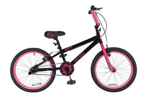 "B Grade Concept Wicked 20"" Wheel Girls Bicycle"