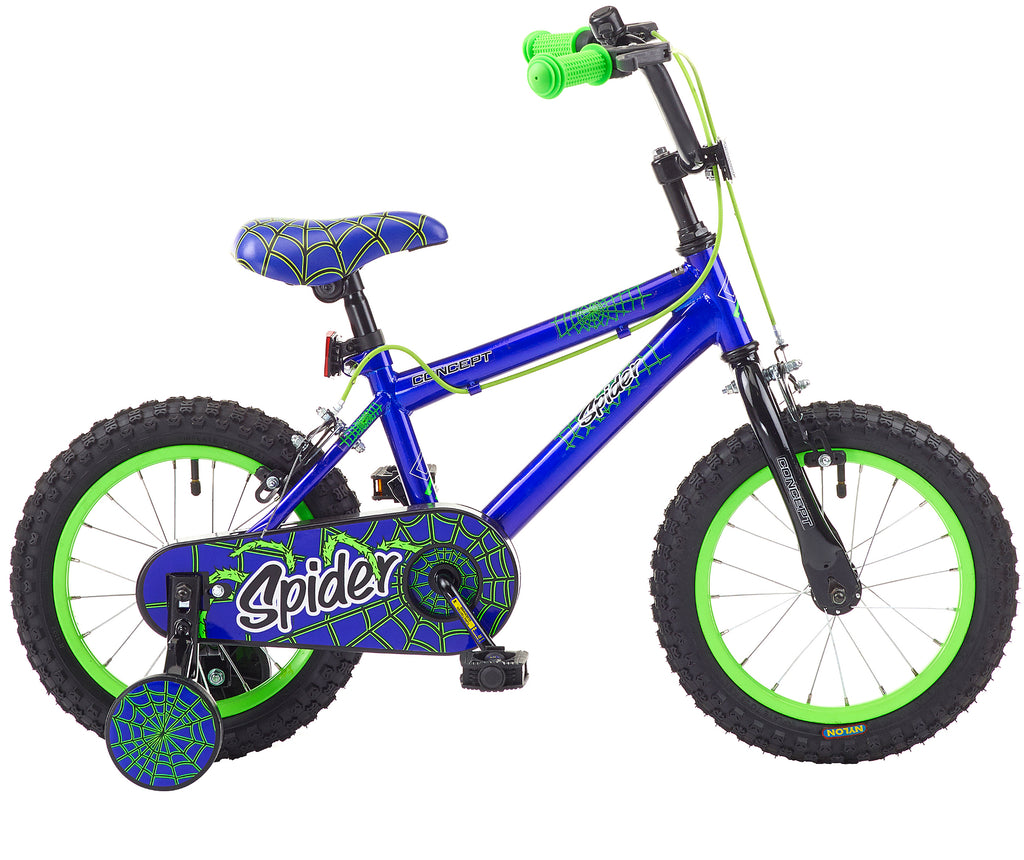 "Concept Spider 14"" Boys Mountain Bike"