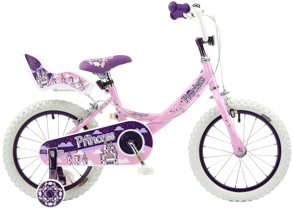 "B Grade Concept Princess 16"" Girls Bike"