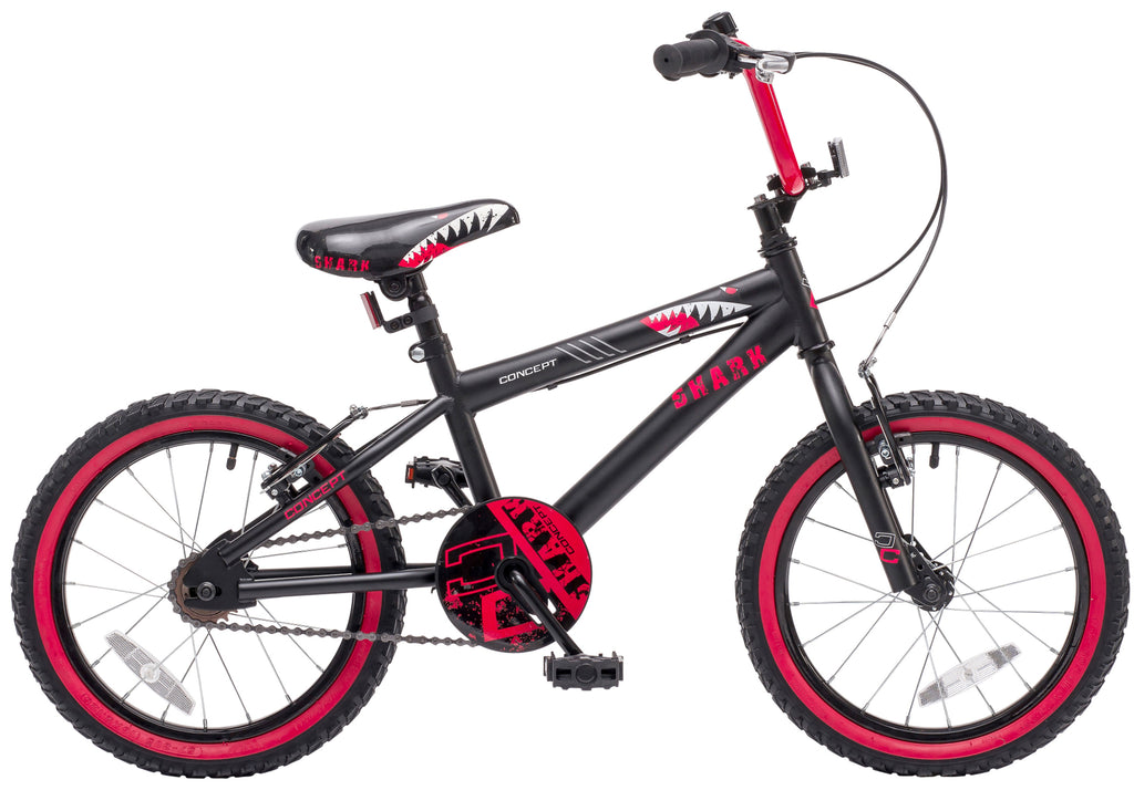 "Concept Shark 16"" Wheel Boys Mountain Bike"