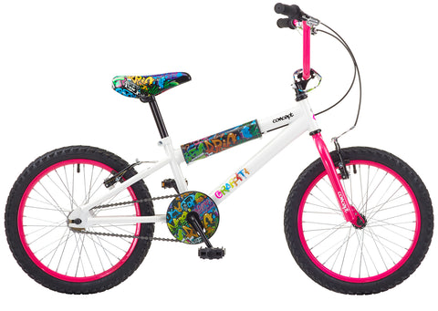 "Concept Graffiti 16"" Girls BMX Bike"