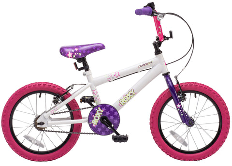"Ex Demo Concept Roxy 16"" Wheel Girls BMX Bike"