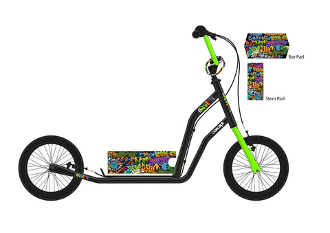 "Concept Graffiti 20"" Wheel Boys Scooter"