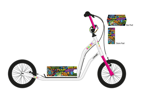"Concept Graffiti 14"" Wheel Girls Scooter"