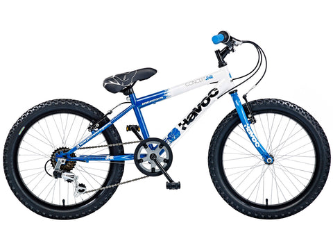 "B Grade Concept Havoc 20"" Six Speed Boys Mountain Bike 7-9 Yrs"