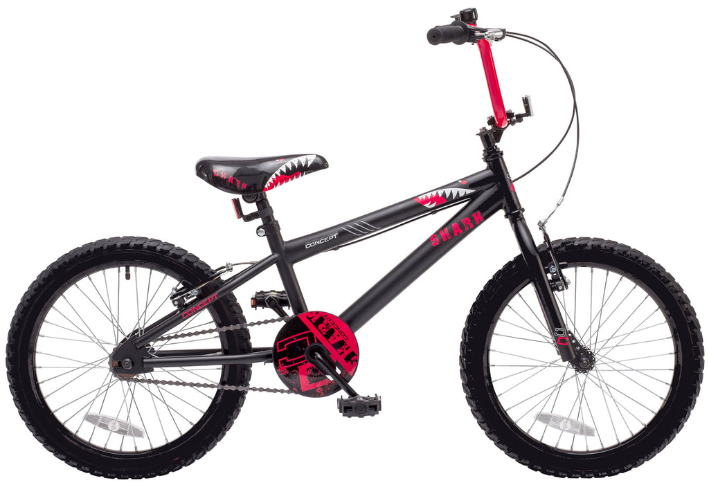 "Concept Shark 18"" Wheel Boys Mountain Bike"