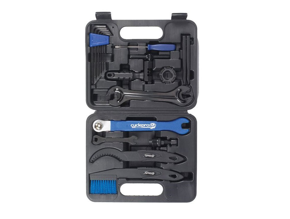 Cyclepro Bicycle Tool Kit 19 Piece in Compact Case