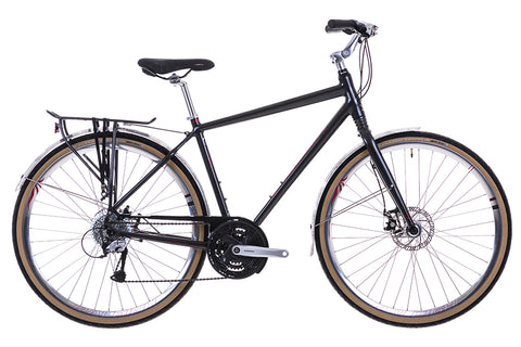 "B Grade 2016 Raleigh Centros 1 Gents 19"" Aluminium Crossbar Frame City Bike Grey"