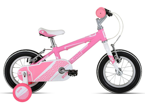 "Cuda Blox 12"" Girls Bicycle 3-5 Yrs Aluminium Pink"